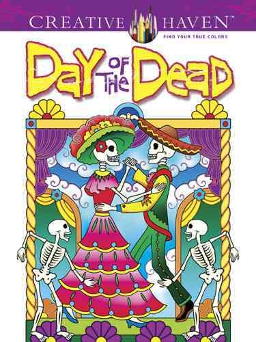day of the dead creative heaven målarbok